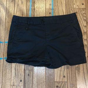 Never worn Banana Republic Black Shorts